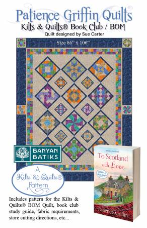Kilts & Quilts Book Club/Bom Program