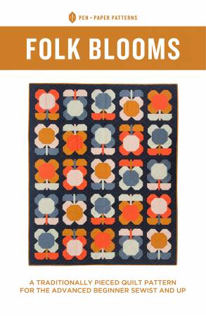 Folk Blooms Quilt