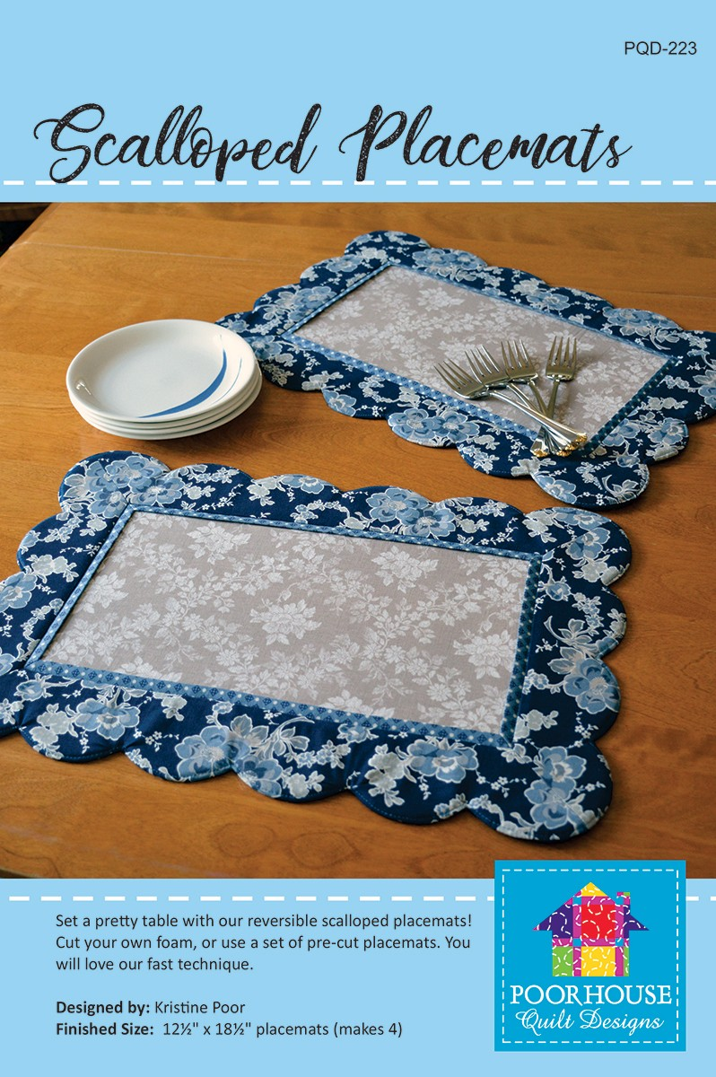 Scalloped Placemats By Poor Kristine