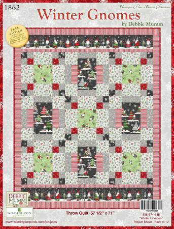 on sale abbfe 6ae39 Project Sheet Winter Gnomes, 12 per pack