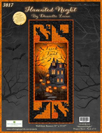 Project Sheet Haunted Night Wall/Door Banner, 12 per pack