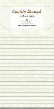 2-1/2in Strips Cookie Dough 40pcs/bundle, 4 bundles per pack