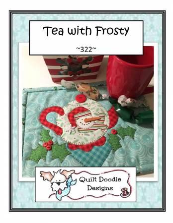 Tea With Frosty Mug Rug
