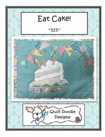 Eat Cake Mug Rug