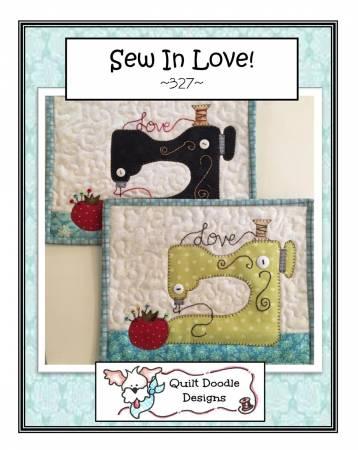 Sew In Love Mug Rug