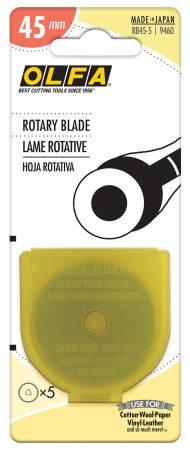 Rotary Blade 45mm 5ct