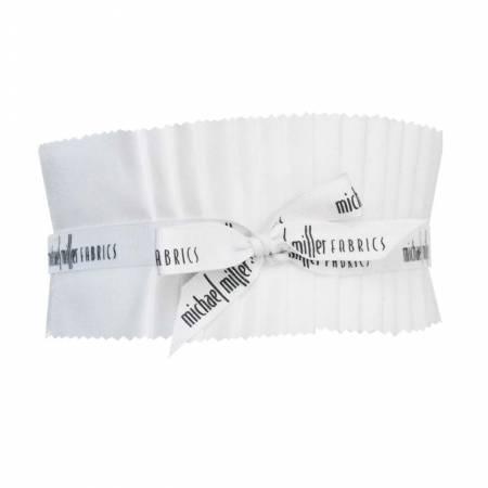 2-1/2in Strips, Cotton Couture, Soft White, 40pcs/bundle