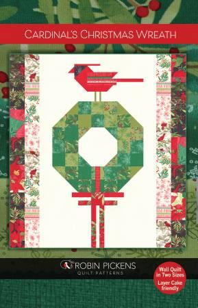 Cardinal's Christmas Wreath