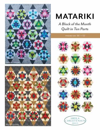 Matariki Block of the Month Pattern Complete Set