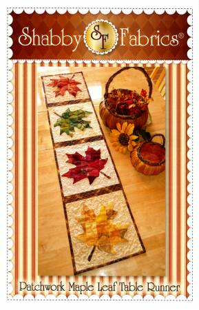 Patchwork Maple Leaf Table Runner