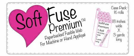 Soft Fuse Paper Backed Fusible Web 18in x 3yds