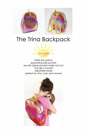 Trina Backpack Sewing Pattern