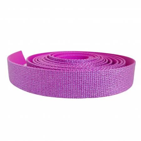 Glitter Webbing Hot Pink