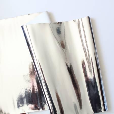 Vinyl Mirror Shine Silver