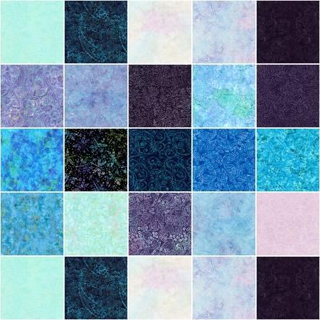 10in Squares Tonga Batik Fantasy, 20pcs/bundle
