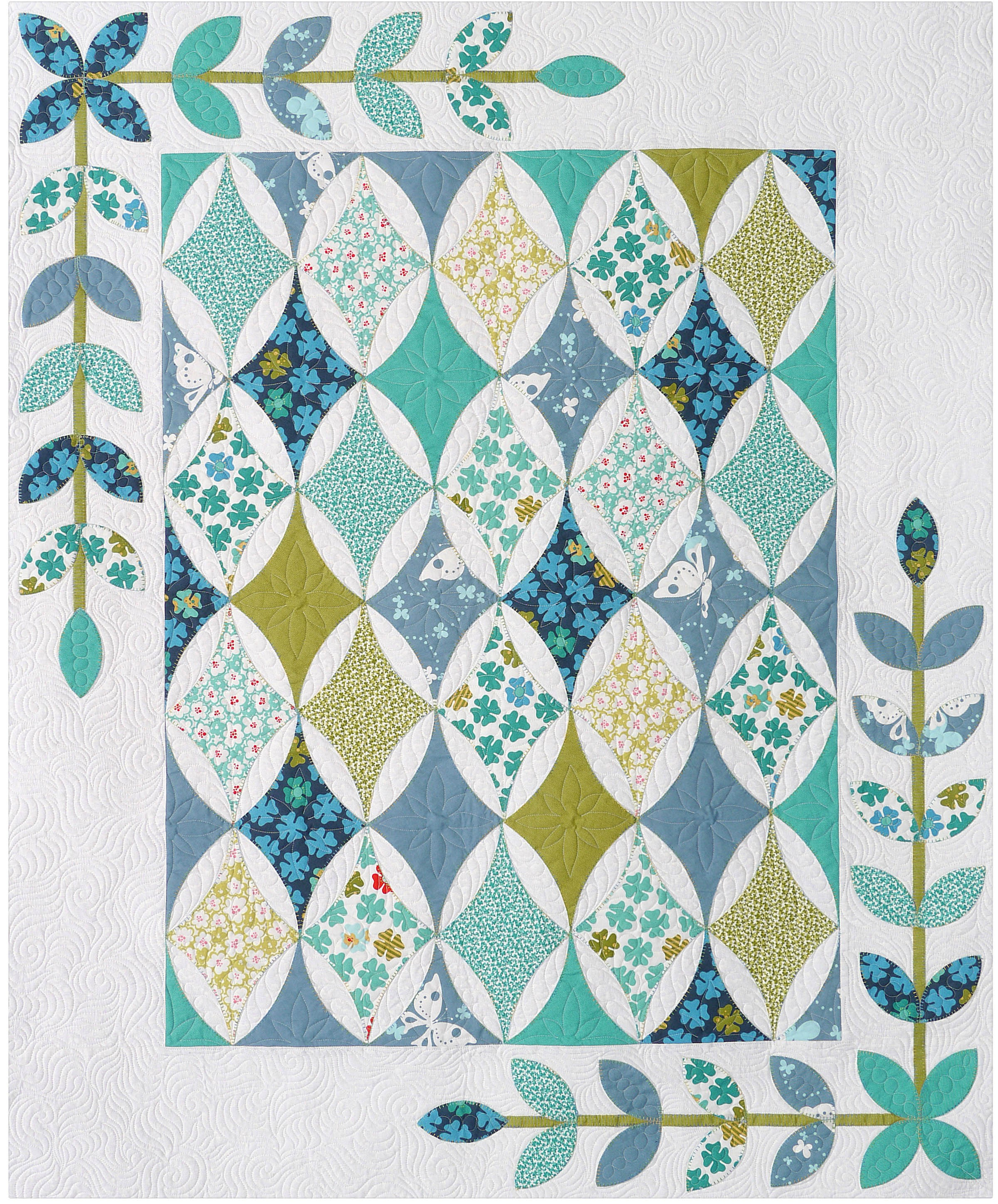 Hope S Diamond Quilt Pattern By Pelland Sue