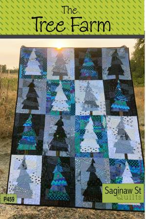 The Tree Farm Uses Groups Of Color To Create A Stunning Quilt Backgrounds One In Another Block Lights And Darks Are Simply
