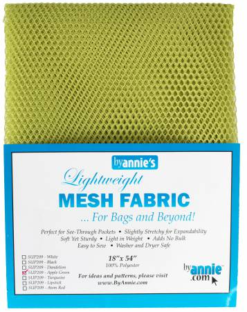 Mesh Lite Weight Apple Green 18in x 54in
