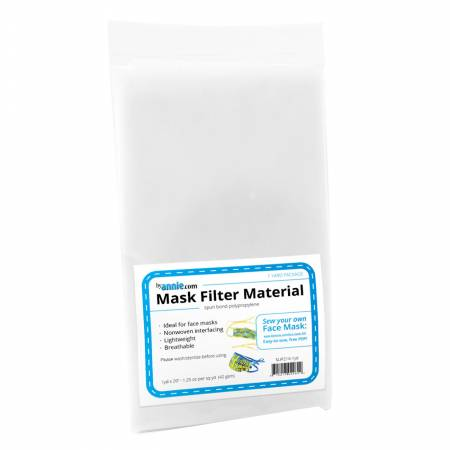Mask Filter Material - 1yd x 20in