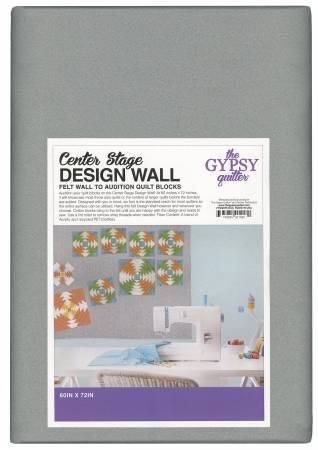 Center Stage Design Wall Gray 72in