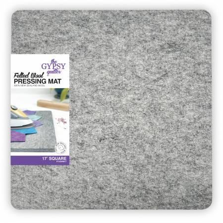 Wool Pressing Mat 17in x 17in x 1/2in Thick