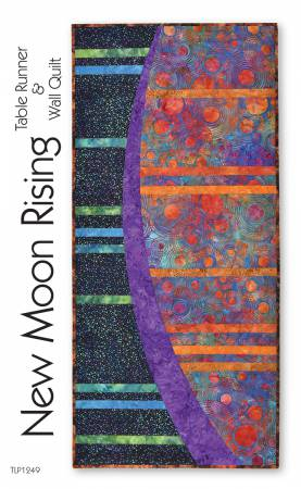 New Moon Rising Table Runner & Wall Quilt