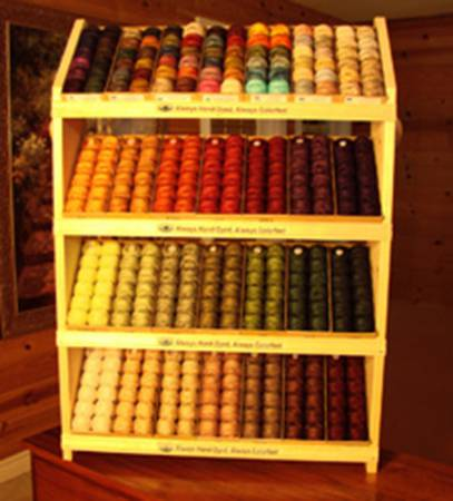 Valdani Pearl Cotton Size 12 Display