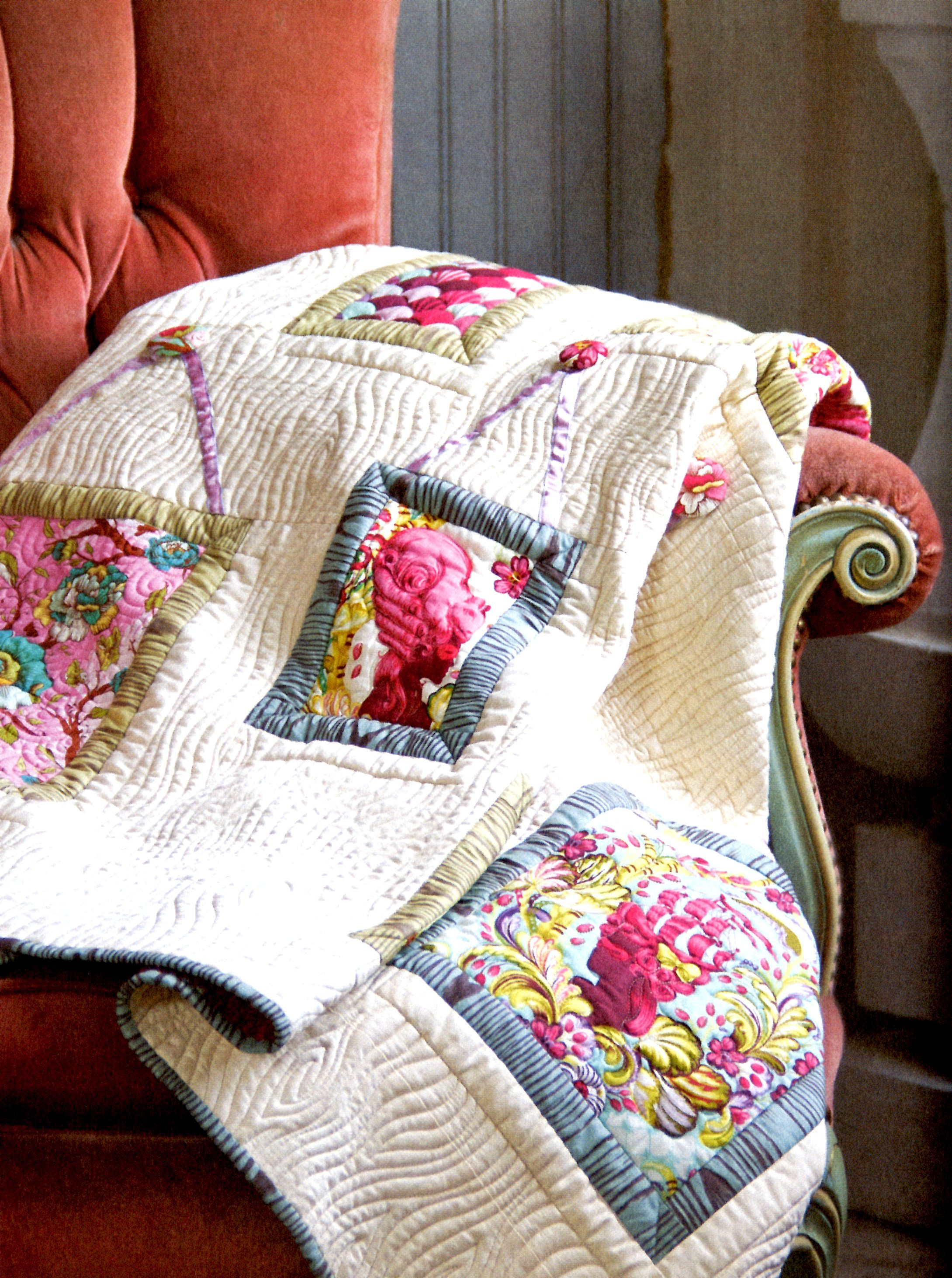 Quilts From The House Of Tula Pink Softcover