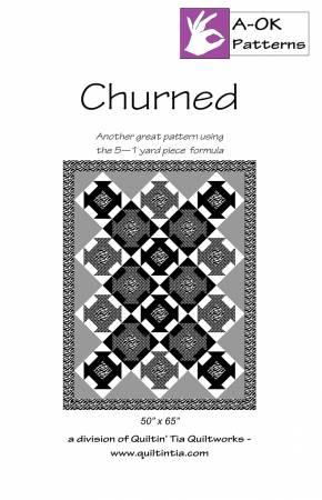 Churned A OK 5 Yard Pattern