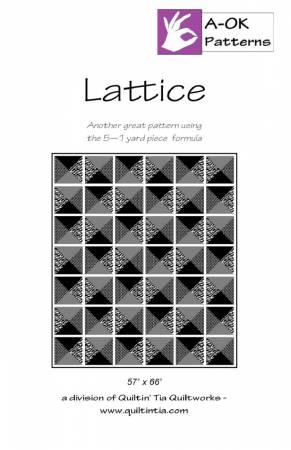 Lattice - A-OK 5 Yard Pattern