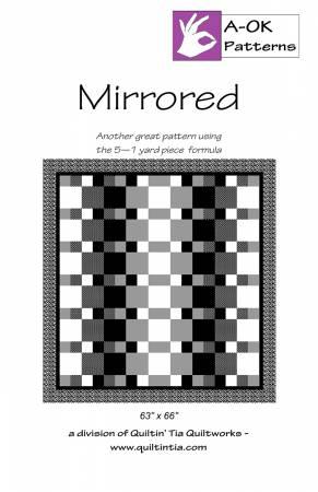 Mirrored  A OK 5 Yard Pattern