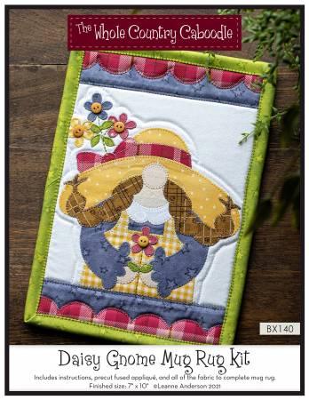 Daisy Gnome Mug Rug Kit