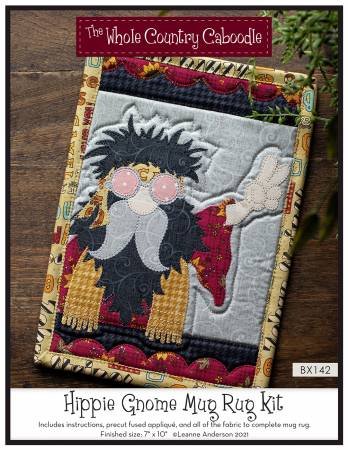 Hippie Gnome Mug Rug Kit