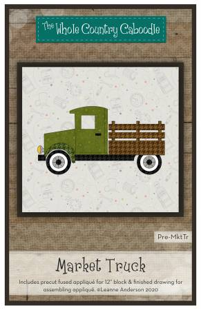 Market Truck Precut Fused Applique Pack