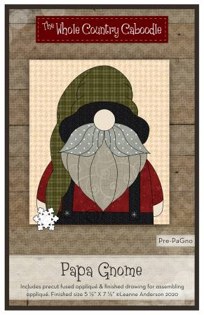 Papa Gnome Precut Fused Applique Pack