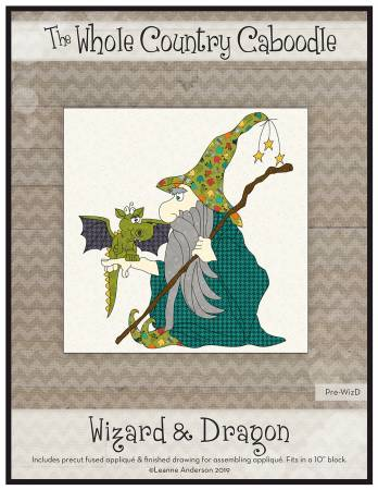 Wizard & Dragon Precut Fused Applique Pack