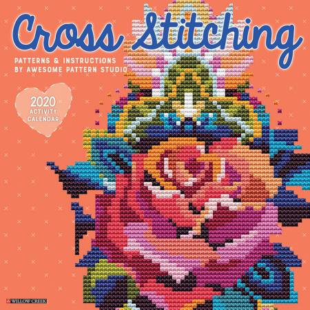 2020 Cross Stitching Wall Calendar