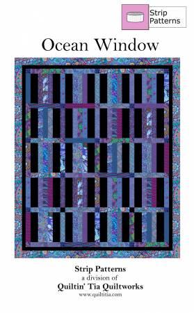 Ocean Window - Quilt Pattern for 2 1/2 Strips