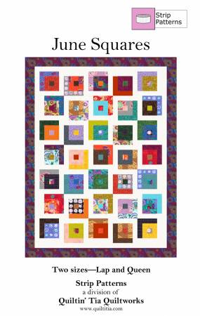 June Squares - Quilt Pattern for 2 1/2 Strips