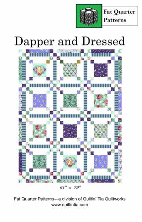 Dapper and Dressed Quilt Pattern