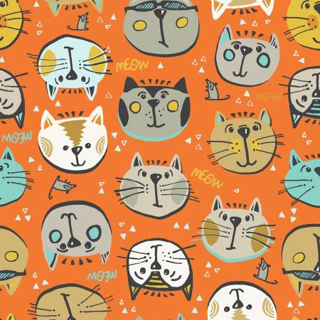 Orange Cat Selfies
