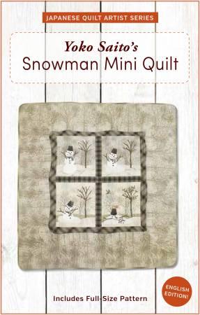 Snowman Mini-Quilt
