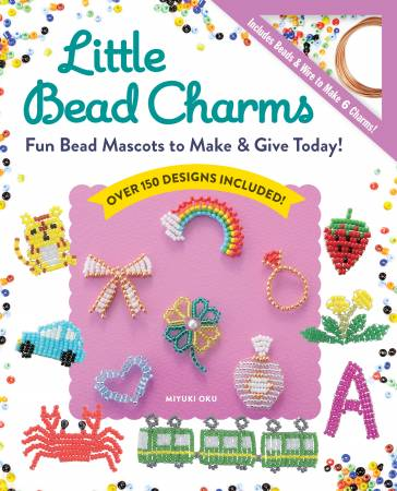 LITTLE BEAD CHARMS: Fun Bead Mascots To Make & Give Today!